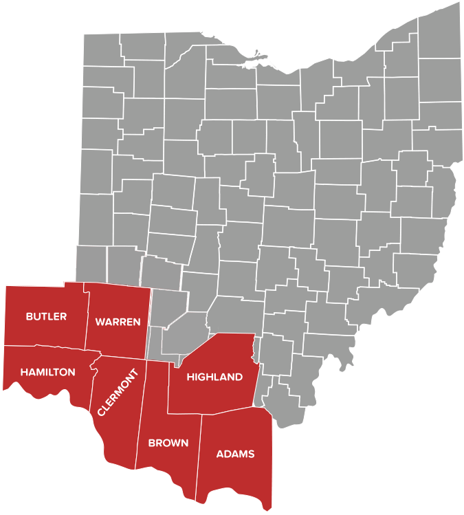 Counties in Ohio