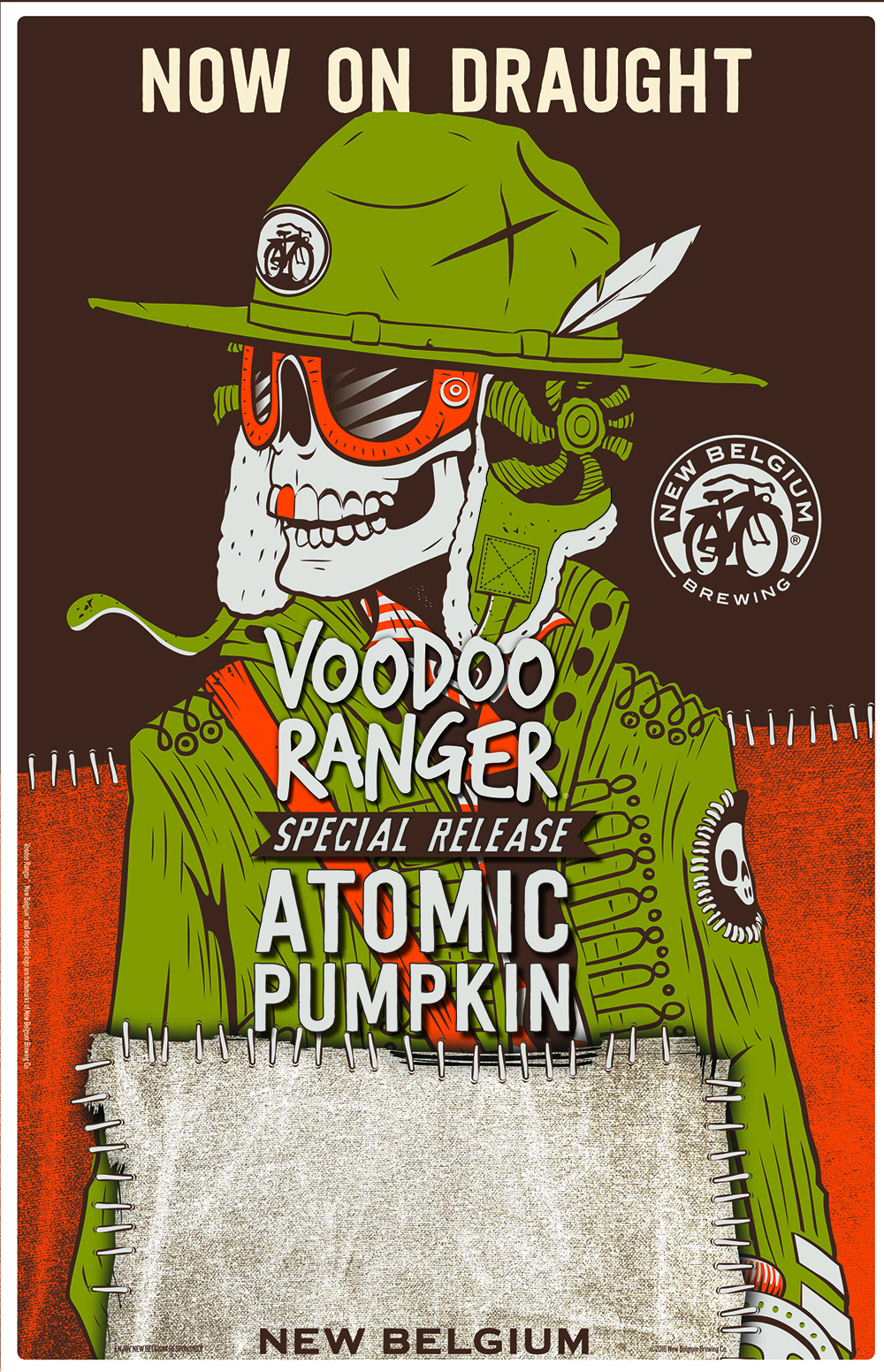 New Belgium Voodoo Atomic Pumpkin